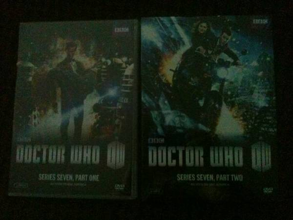 Doctor Who   Series 7 Part 1  amp  Part 2 DVD  BRAND NEW   Garland