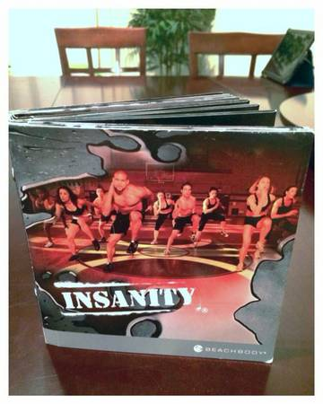 Insanity official DVDs entire set    -   x0024 35  Plano