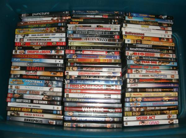 100 DVDS SaleTrade (East Tx)