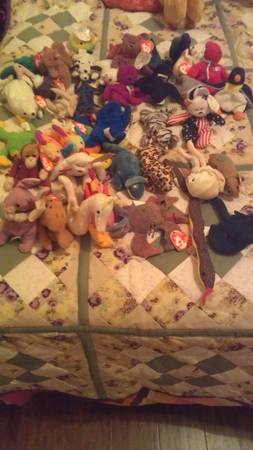 Beanie Baby Lot     -   x0024 40  Nacogdoches