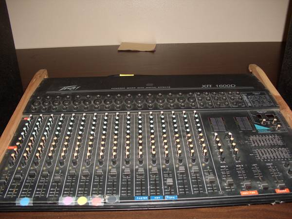 Peavey XR 1600D Powered Mixer with digital effects $500.00 or OBO (Lufkin)