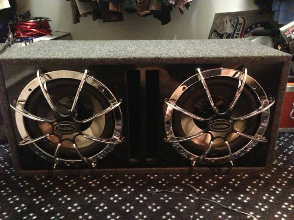 2, 12inch Diamond Subwoofers with Diamond D600.1 Amp - $500 (Nacogdoches)
