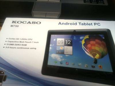 Kosaco M750 tablet broken for parts -   x0024 40  Nacogdoches