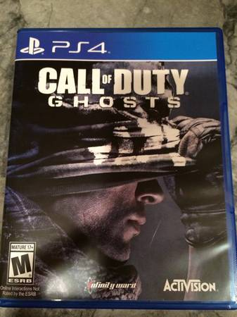 Call of Duty PS4 -   x0024 35  North Dallas Sherman