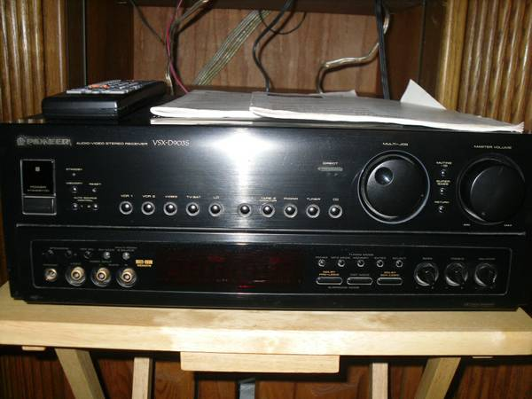 Pioneer Receiver VSX-D903S - $365 (Timpson, TX)