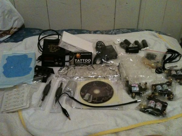 Professional 4 Gun Tattoo Machines - $135 (76302 )