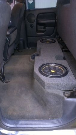 dodge ram subwoofers with sub box - $90 (nacogdoches TX)