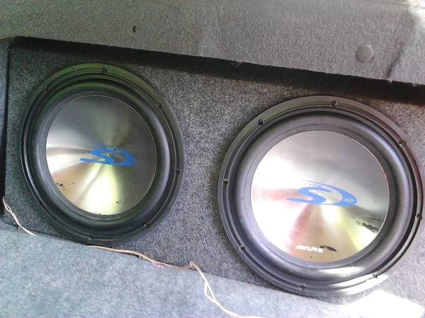 alpine subs and lanzar - $1 (nacogdoches )
