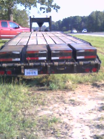 40 ft. tandum axle trailer - $6500 (carthage,texas)