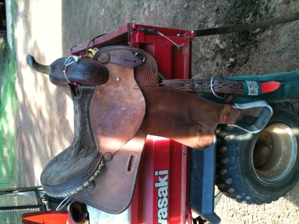 SADDLES FOR SALE PRICED GREAT - $325 (HEMPHILL, TX)