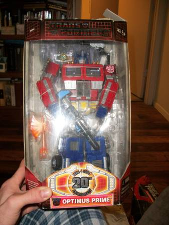 Brand New Collectible 20th anniversary Optimus Prime  East TX