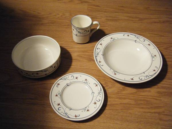 Large set of Mikasa dishes - $150 (Haughton)