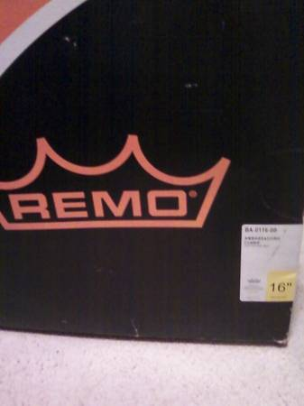 16  Remo drum head  new  never used  -   x0024 10  Pittsburg  TX