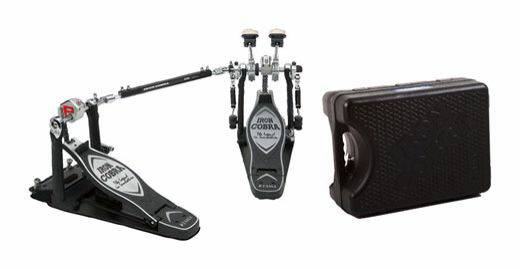 Tama HP900PSWN Iron Cobra Double Bass Drum Pedal with Case - $300 (Plano)