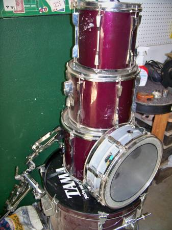 5 piece drum set -   x0024 100  Nacogdoches