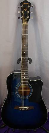 L  K    Ibanez Acoustic Electric guitar up for sale     -   x0024 100  Palestine Texas