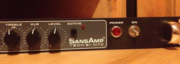 Tech 21 Sansamp RBI Bass Preamp DI -   x0024 245  Nacogdoches