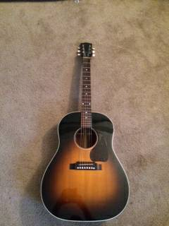 Gibson J 45 acoustic for sale  Mineola Lindale Tyler