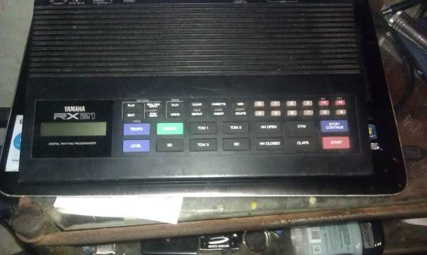 Vintage Yamaha RX21 Drum Machine -   x0024 200  Nacogdoches