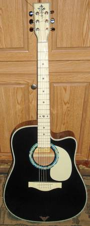 Esteban Acoustic Electric Guitar - $60 (Nacogdoches)