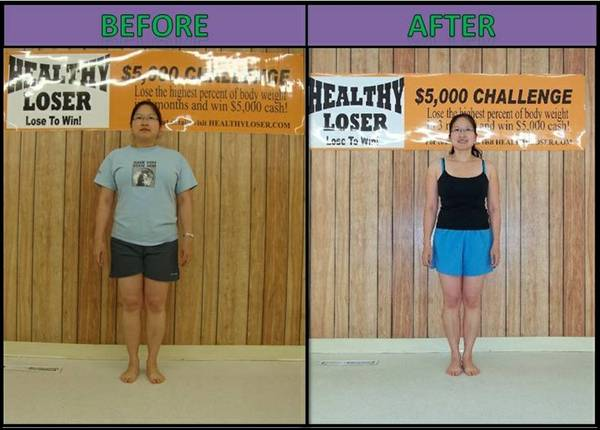 Join Healthy Loser  5 000 Weight Contest