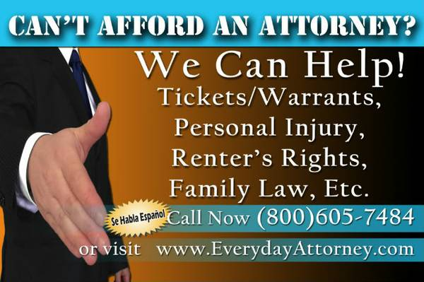 FAMILY LAW - DIVORCE  CUSTODY  CHILD SUPPORT - KNOW YOUR RIGHTS  WWW EVERYDAYATTORNEY COM