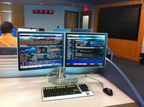looking for Bloomberg terminal training