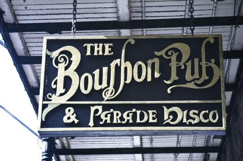 Bourbons Pub and Parade  - 801 Bourbon Street at St  Ann New Orleans  LA  70116-3106 - Ph 504 529