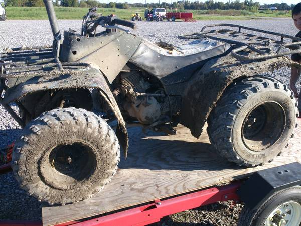 atv for sale or trade -   x0024 500  kenner