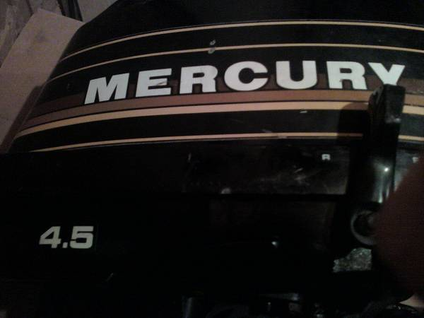 Sell or Trade 4 5 mercury outboard long shaft like new very low hrs -   x0024 500  abita springs