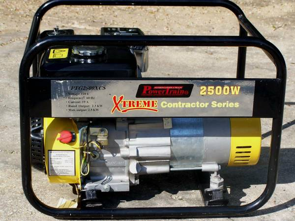 NEW  Power Train Contractor Series Generator -   x0024 295  Hammond