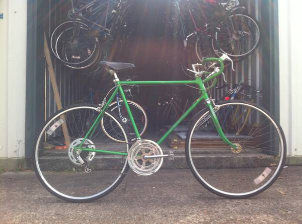 Mens Road Bike SCHWINN VARSITY Size Large 1979 Green - x0024180 (Metairie)