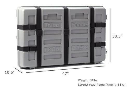 Trico sports iron case - bicycle case -   x0024 375  Metairie