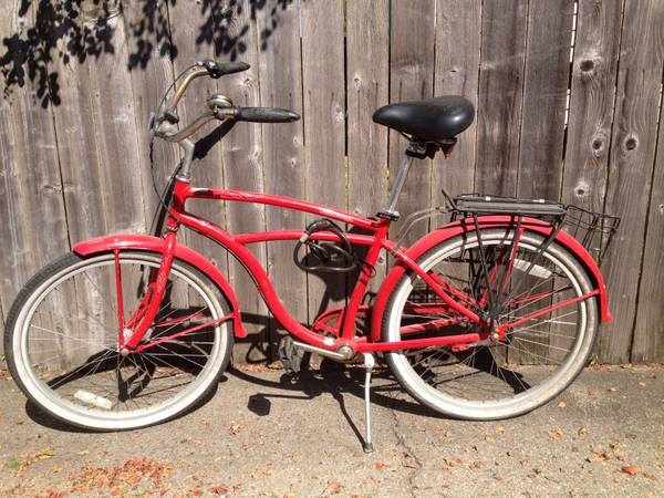 Used DEL SOL TRADEWIND CRUISER BICYCLEBIKE - $150 (uptown new orleans)