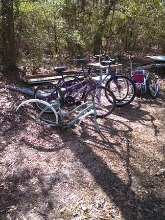 3 BIKES plus PARTS - x002435 (mandeville)