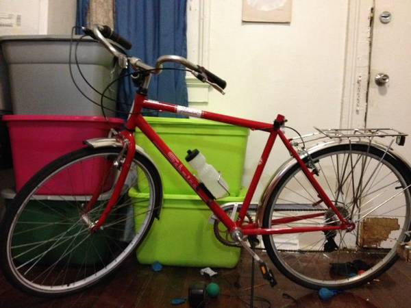7 speed red schwinn - $80 (Mid city)