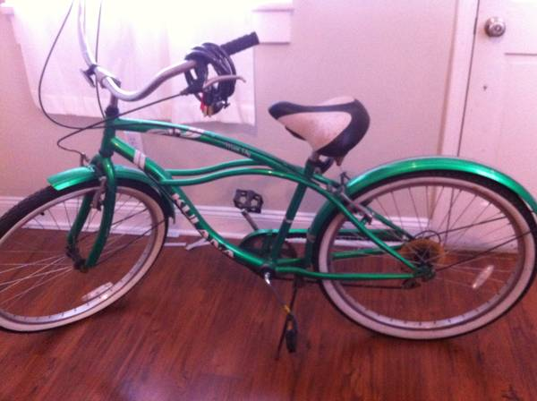 Kulana Cruiser bike w lock - $150 (Lower Garden District)