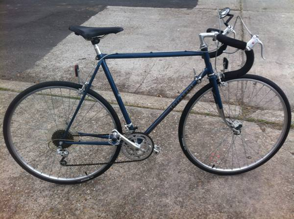 Mens Road Bike TERRANAUT 12 speed Early 80s light and fast - x0024280 (Metairie)