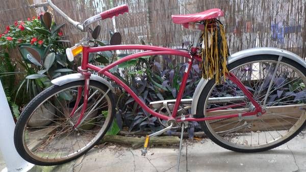 Vintage Western Flyer Cruiser Bicycle - $150 (Uptown - Riverbend)
