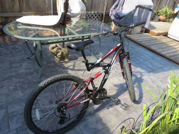 26 Huffy Rock Creek Mountain Bike 18 speed dual suspension - $65 (Metairie)