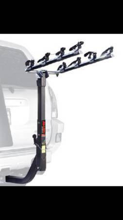 allen bike rack 4 bike holder model 540rr - $80 (river ridge)