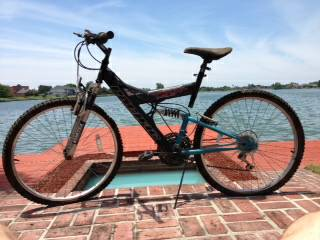18 speed Bicycle with front rear suspension - $80