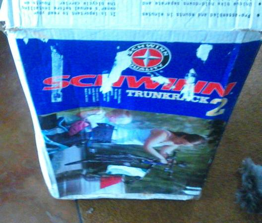 schwinn 2 bike trunk mount rack - $35 (picayune)