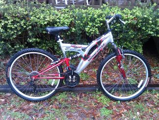Mardi Gras Special CHEAP Like New MONGOOSE DXR AL ALUMINUM MOUNTAIN BIKE - $55 (Mandeville)
