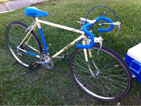 FUJI DEL REY Mens 10 speed 19 frame SMALL FRAME - $200 (METAIRIE )