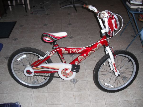 Girls Huffy bike 20 inch - $40 (algiers)