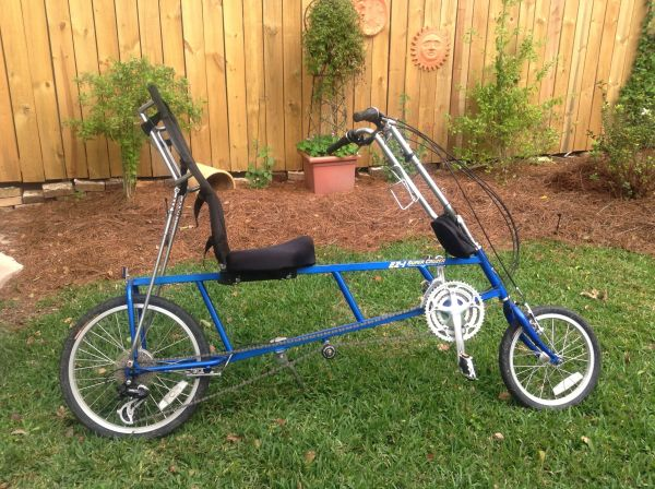 2-Recumbent EZ-1 Super Cruiser Bike plus Bike rack - $899 (Metairie)