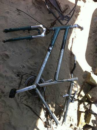 Two old bike frames - Trek Navigator and Tapout - $100 (Treme)