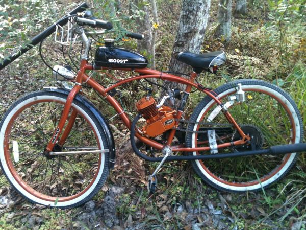 Motorized bicycle - $550 (Mandeville)