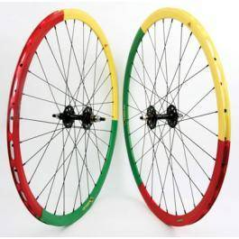 Origin 8 Velocity Deep V Limited Edition Rasta Wheelset - $200 (Uptown)